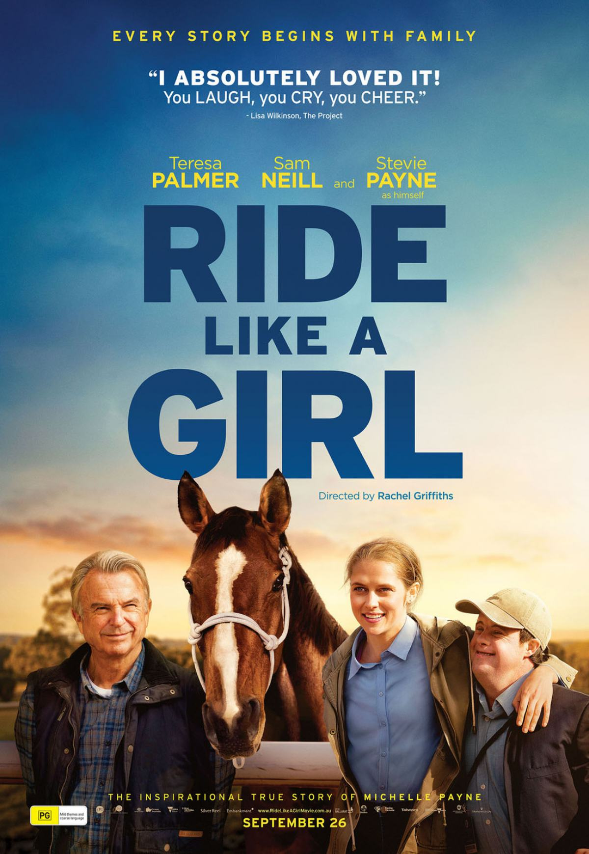 Ride Like a Girl Poster #1