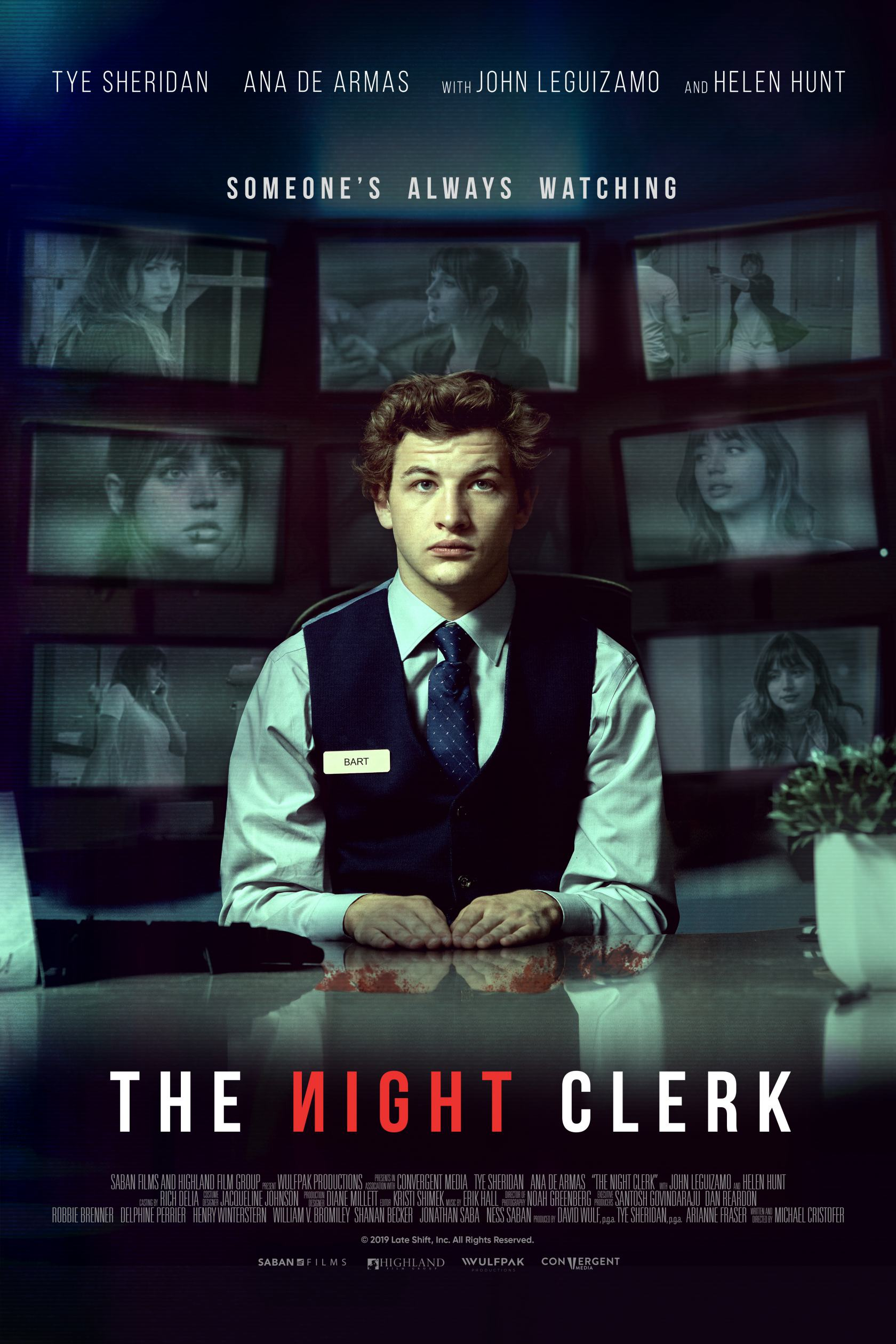 The Night Clerk Poster #1