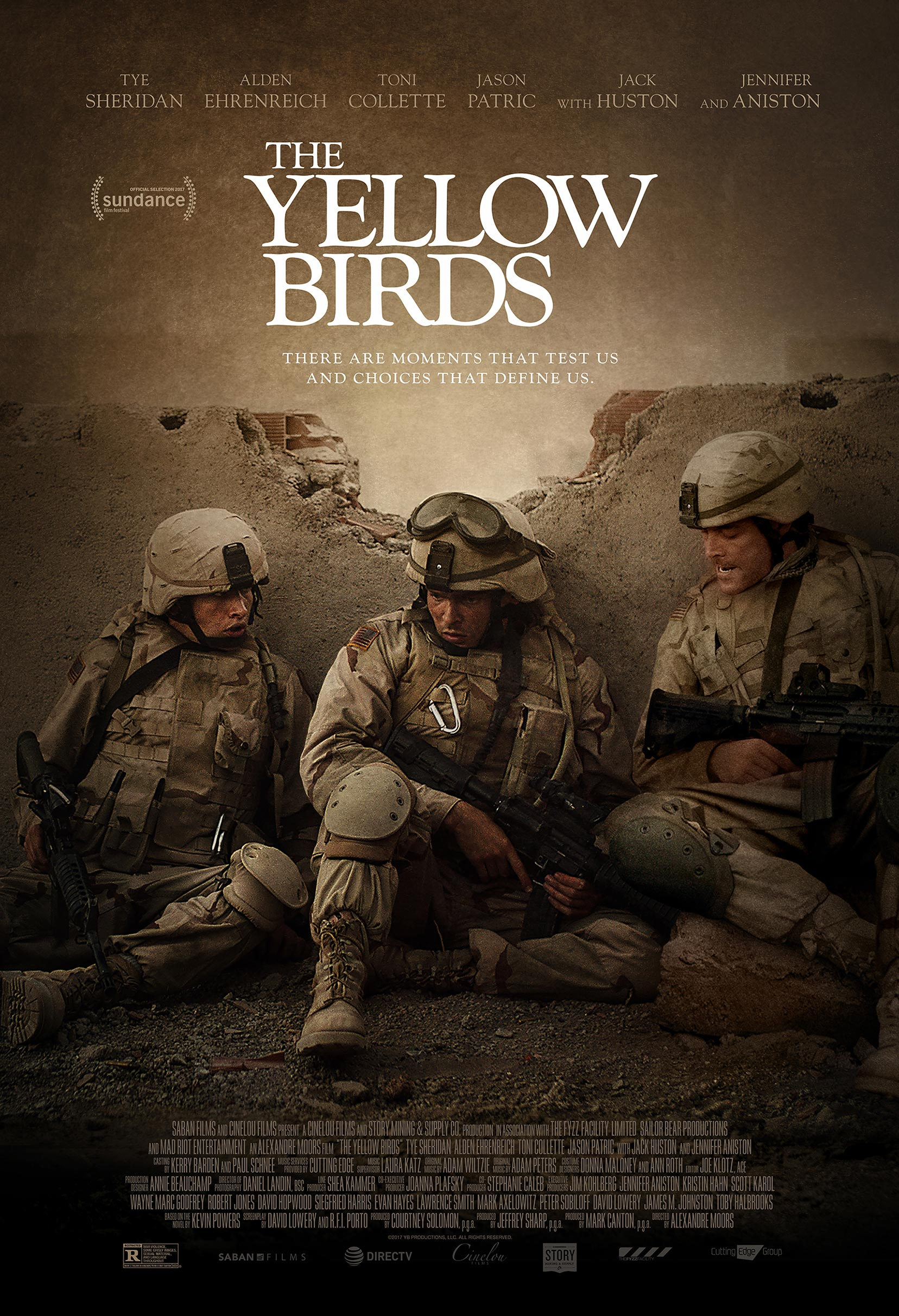 The Yellow Birds Poster #1