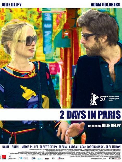 2 Days in Paris Poster #1