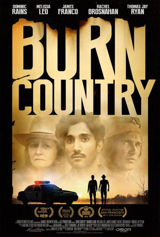 Burn Country Poster #1