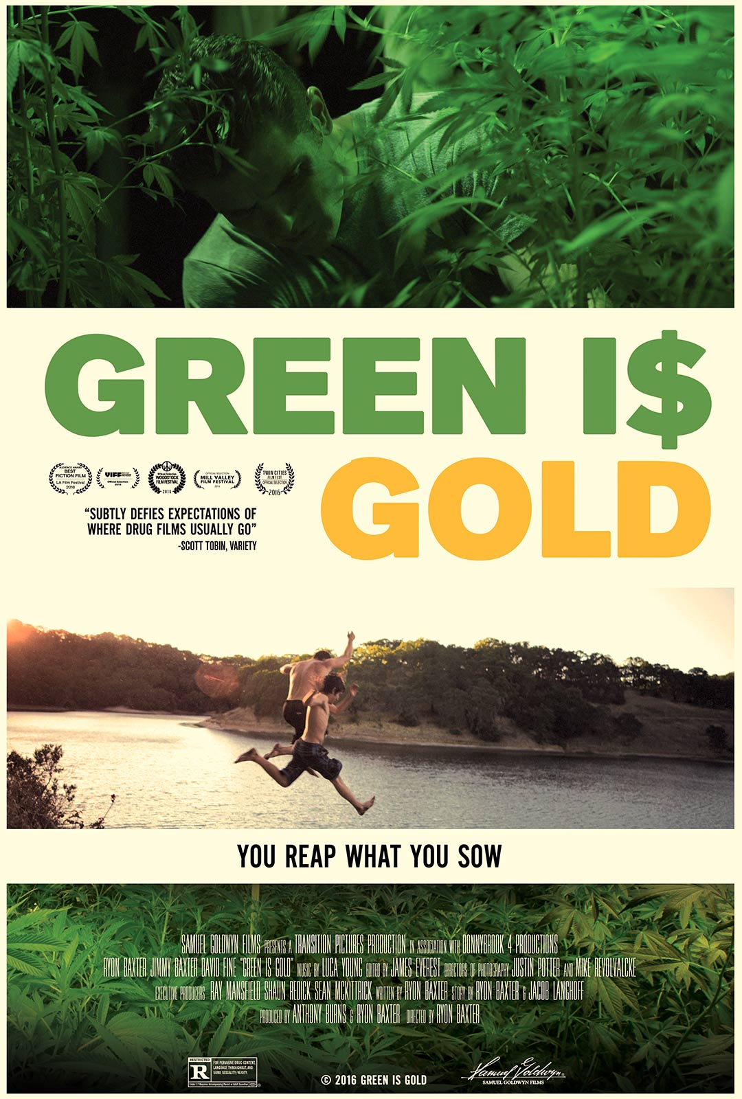 Green is Gold Poster #1