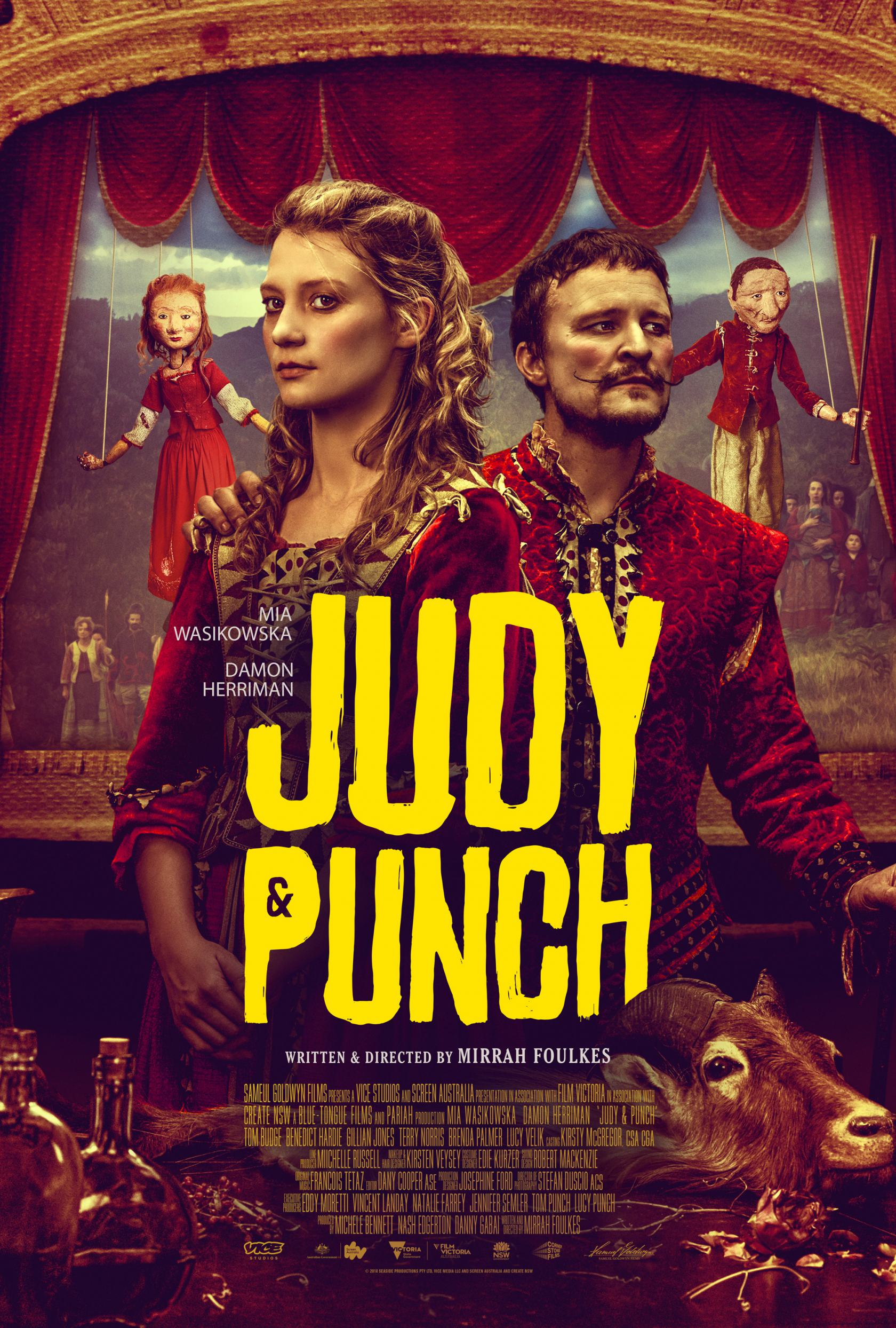Judy & Punch Poster #1