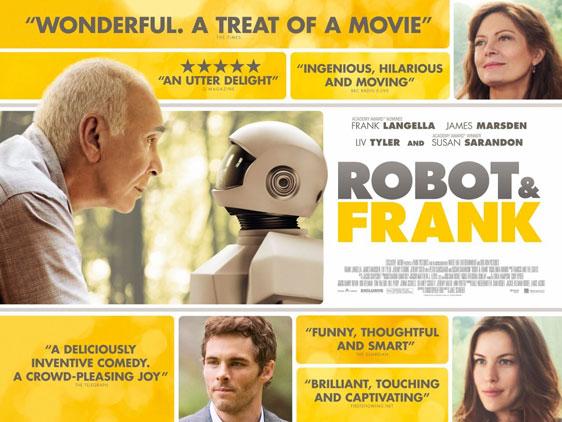 Robot & Frank Poster #3