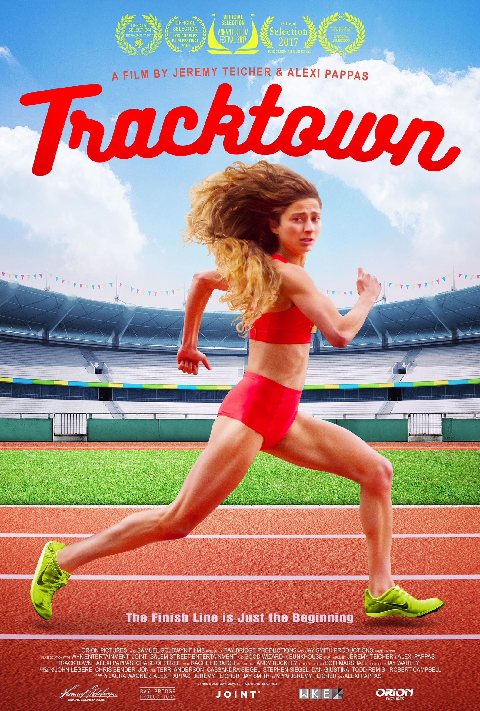 Tracktown Poster #1