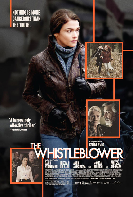 The Whistleblower Poster #2