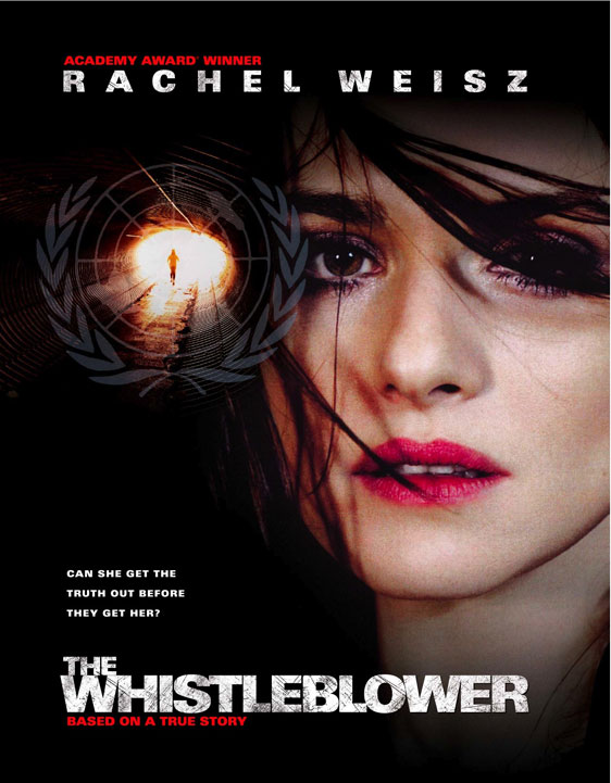 The Whistleblower Poster #1