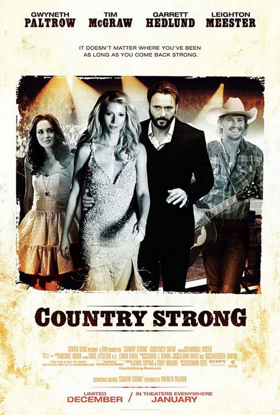 Country Strong Poster #1