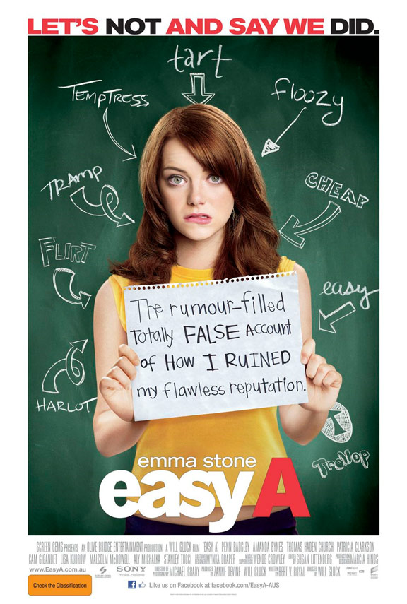 Easy A Poster #1