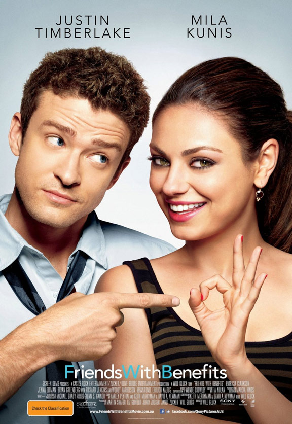 Friends With Benefits Poster #2