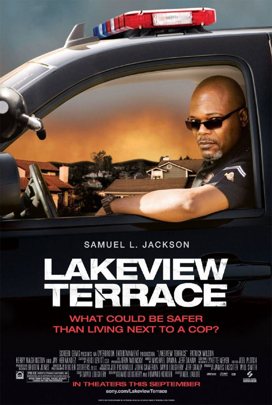 Lakeview Terrace Poster #1