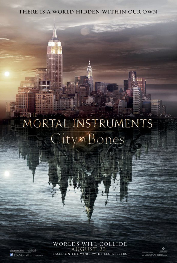 The Mortal Instruments: City of Bones Poster #1