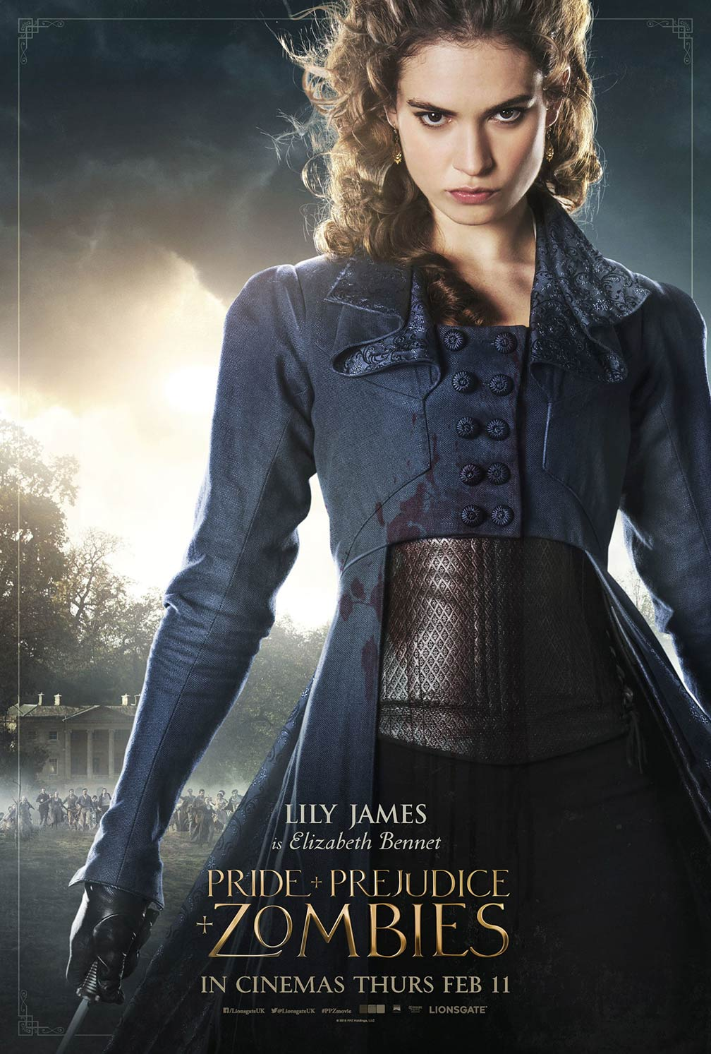 Pride and Prejudice and Zombies Poster #10