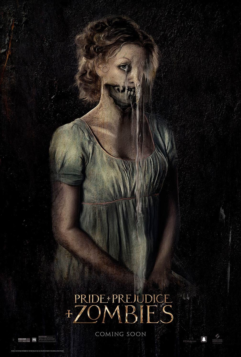 Pride and Prejudice and Zombies Poster #2