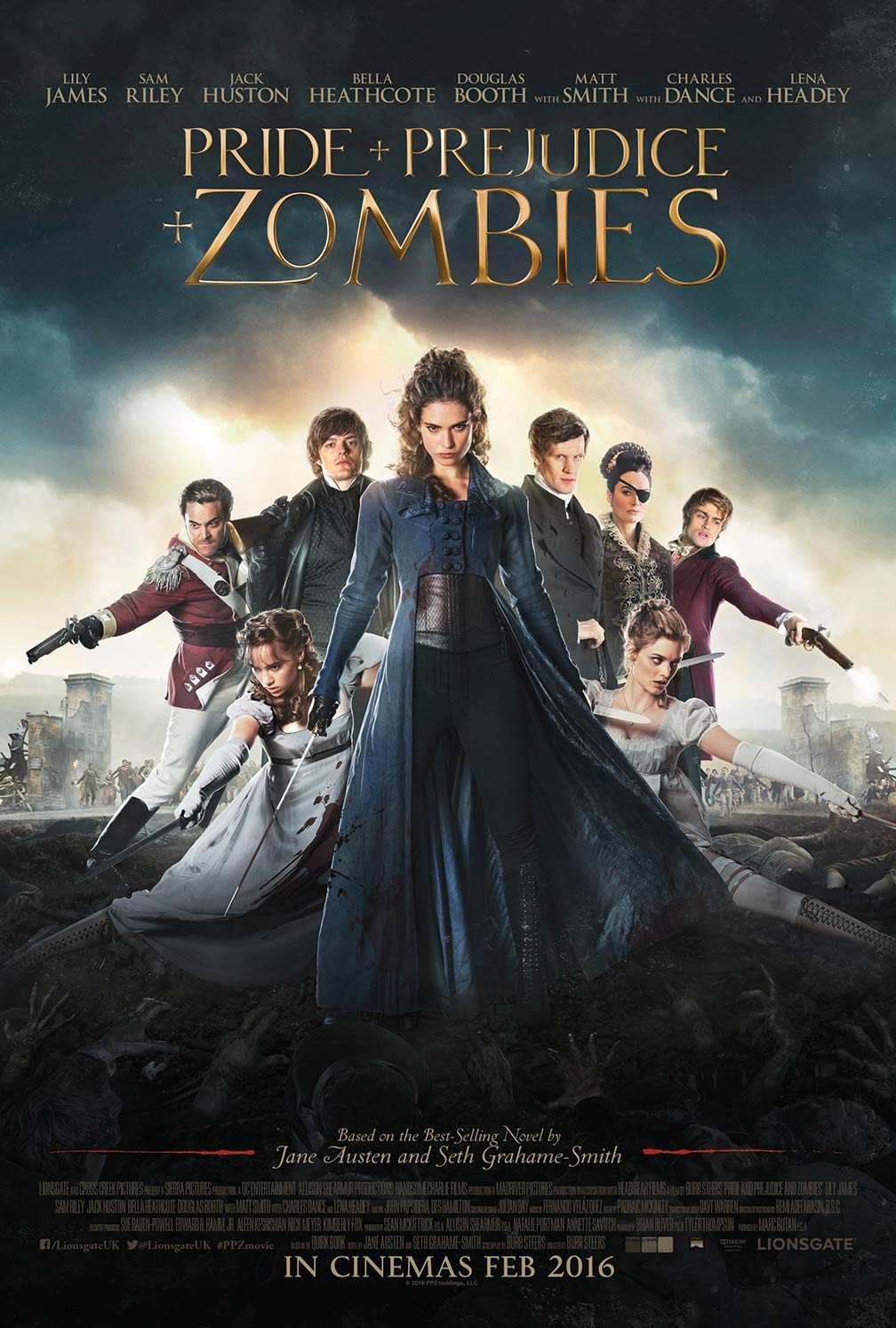 Pride and Prejudice and Zombies Poster #3