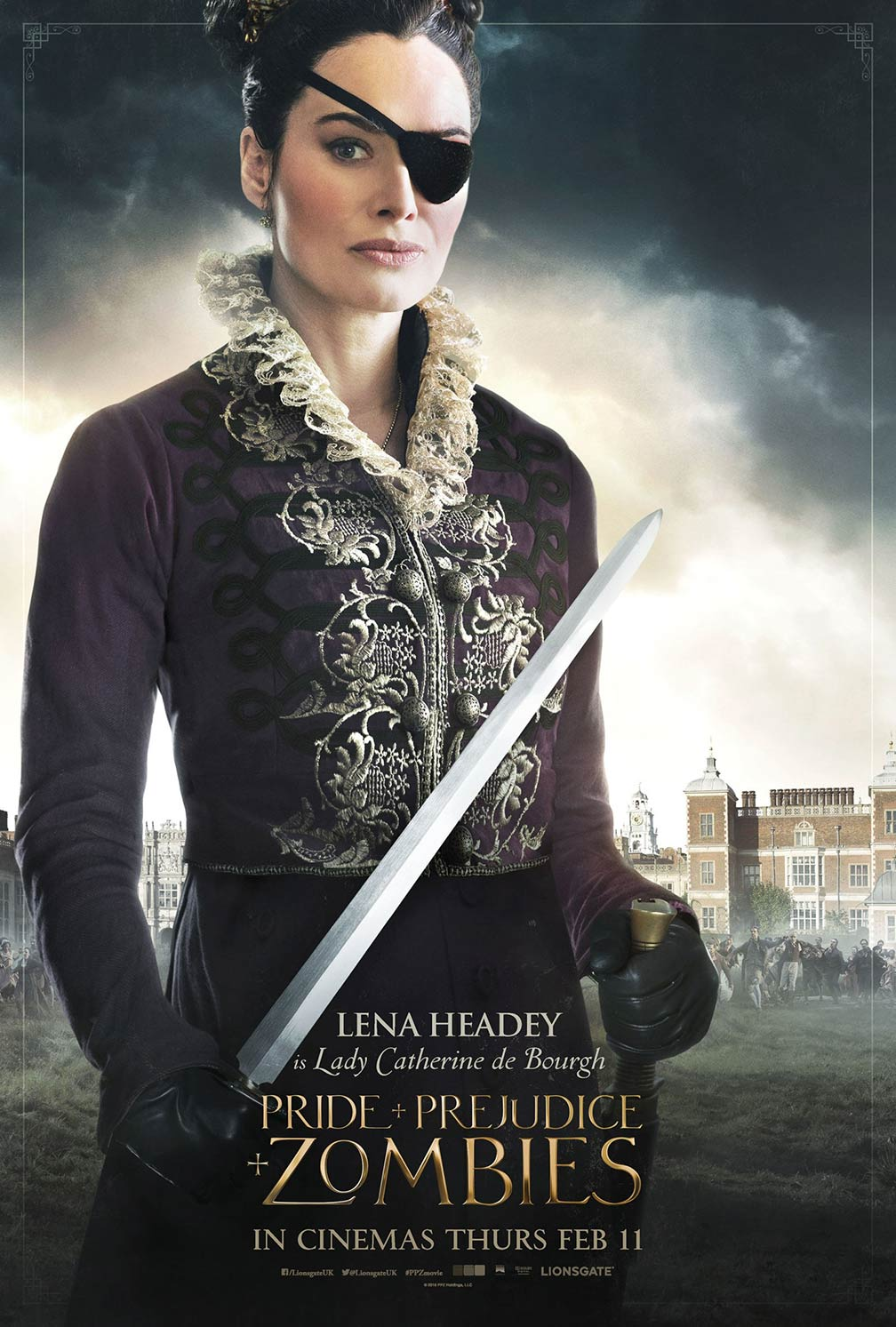 Pride and Prejudice and Zombies Poster #4
