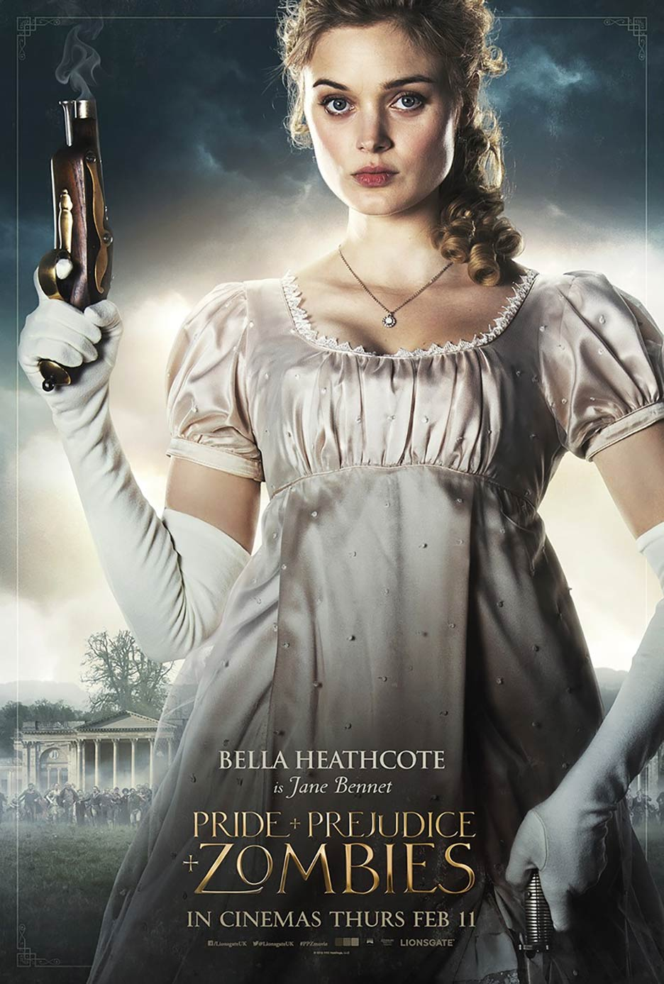 Pride and Prejudice and Zombies Poster #6