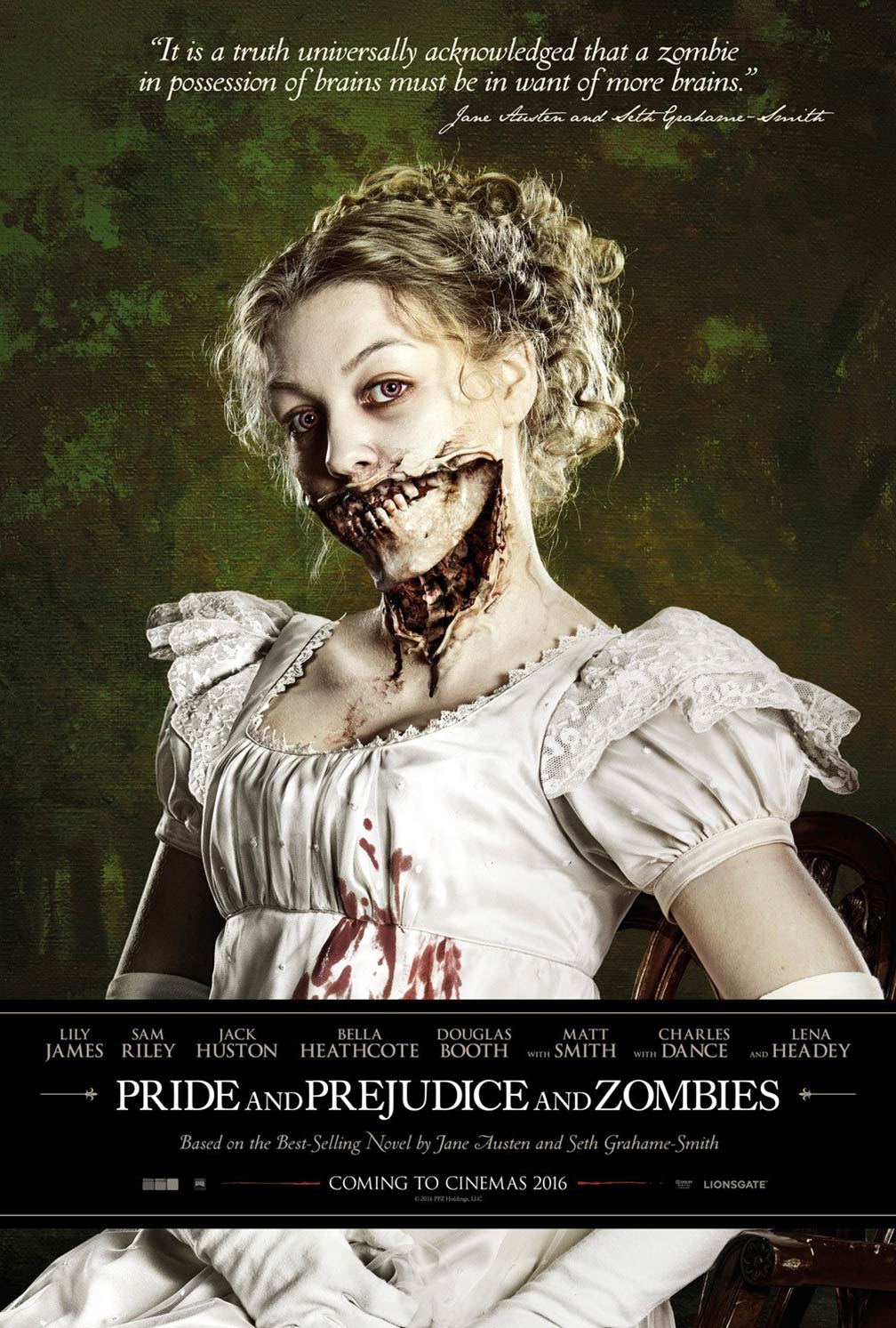 Pride and Prejudice and Zombies Poster #1