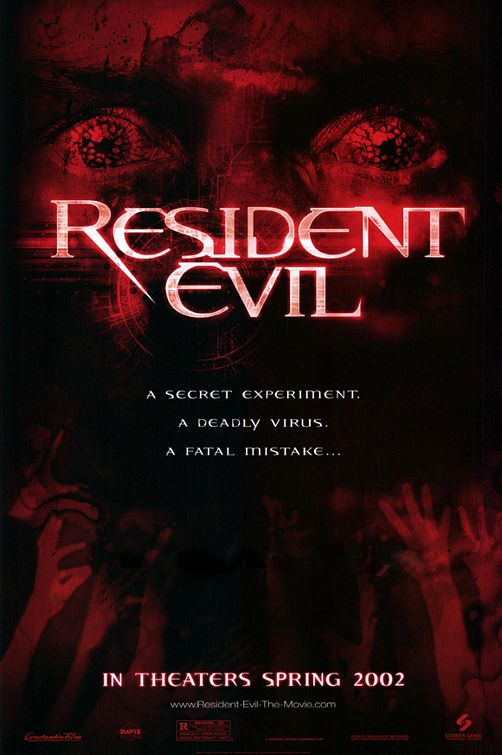 Resident Evil Poster #1