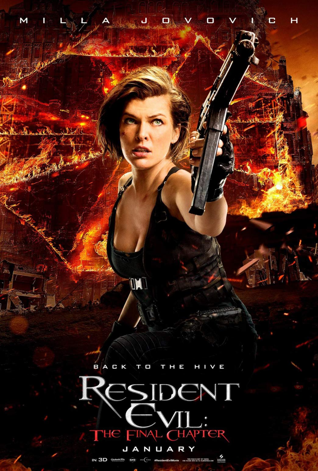 Resident Evil: The Final Chapter Poster #11