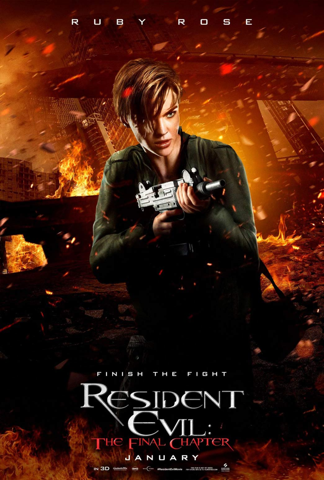 Resident Evil: The Final Chapter Poster #12