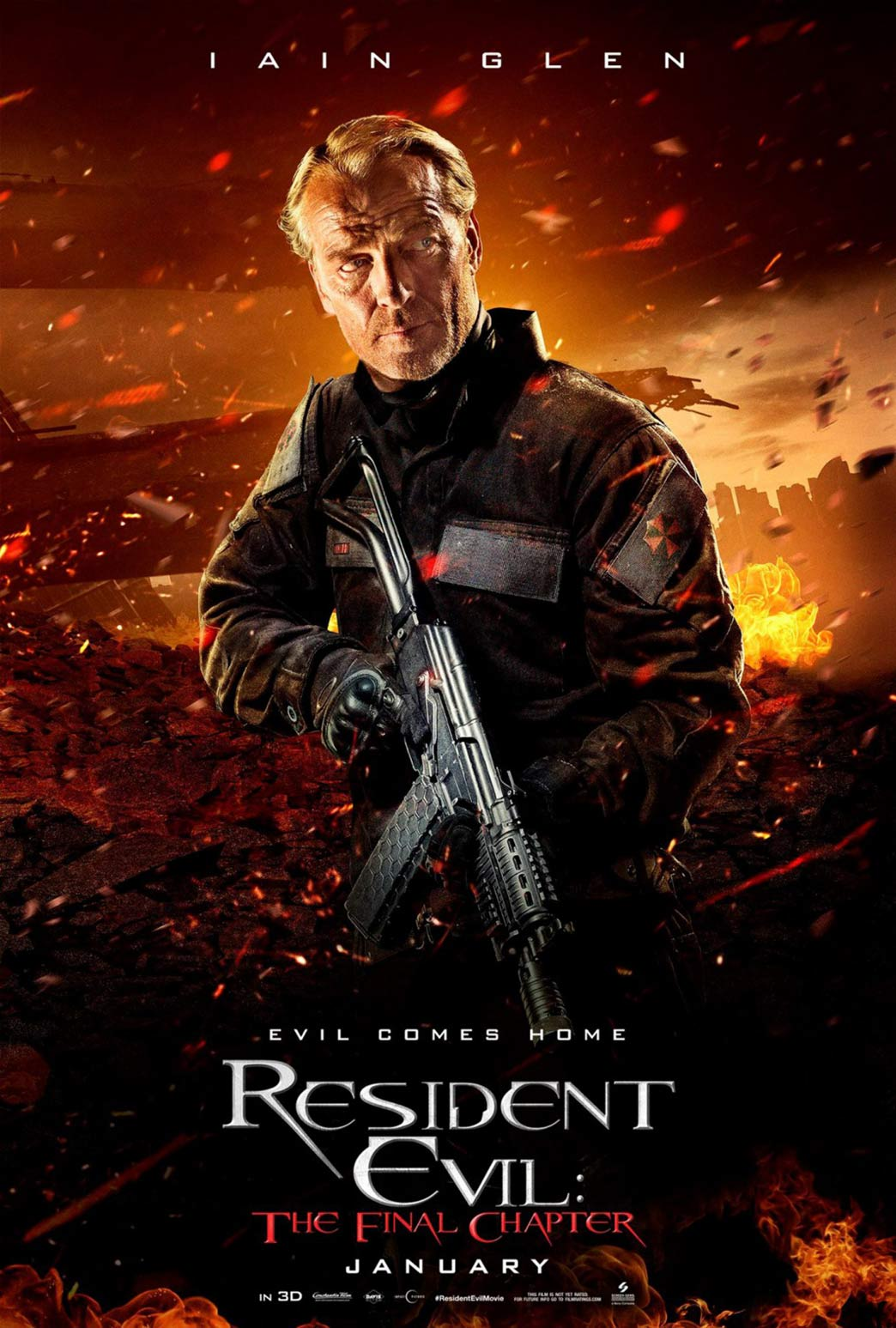 Resident Evil: The Final Chapter Poster #13