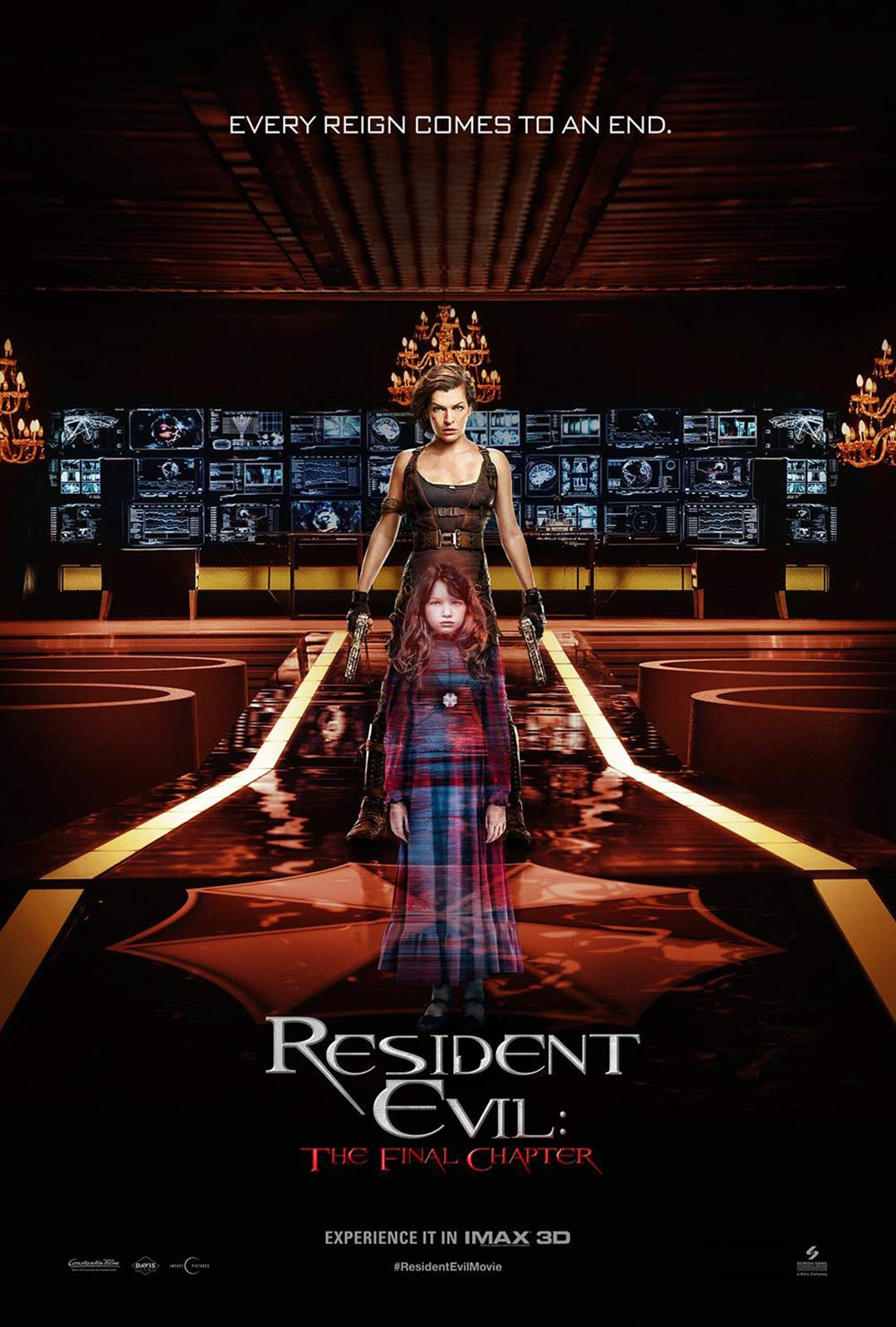 Resident Evil: The Final Chapter Poster #16