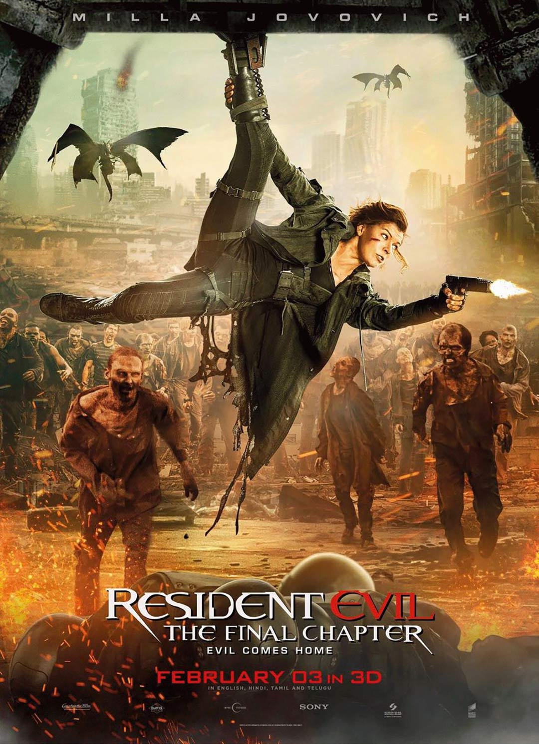 Resident Evil: The Final Chapter Poster #17
