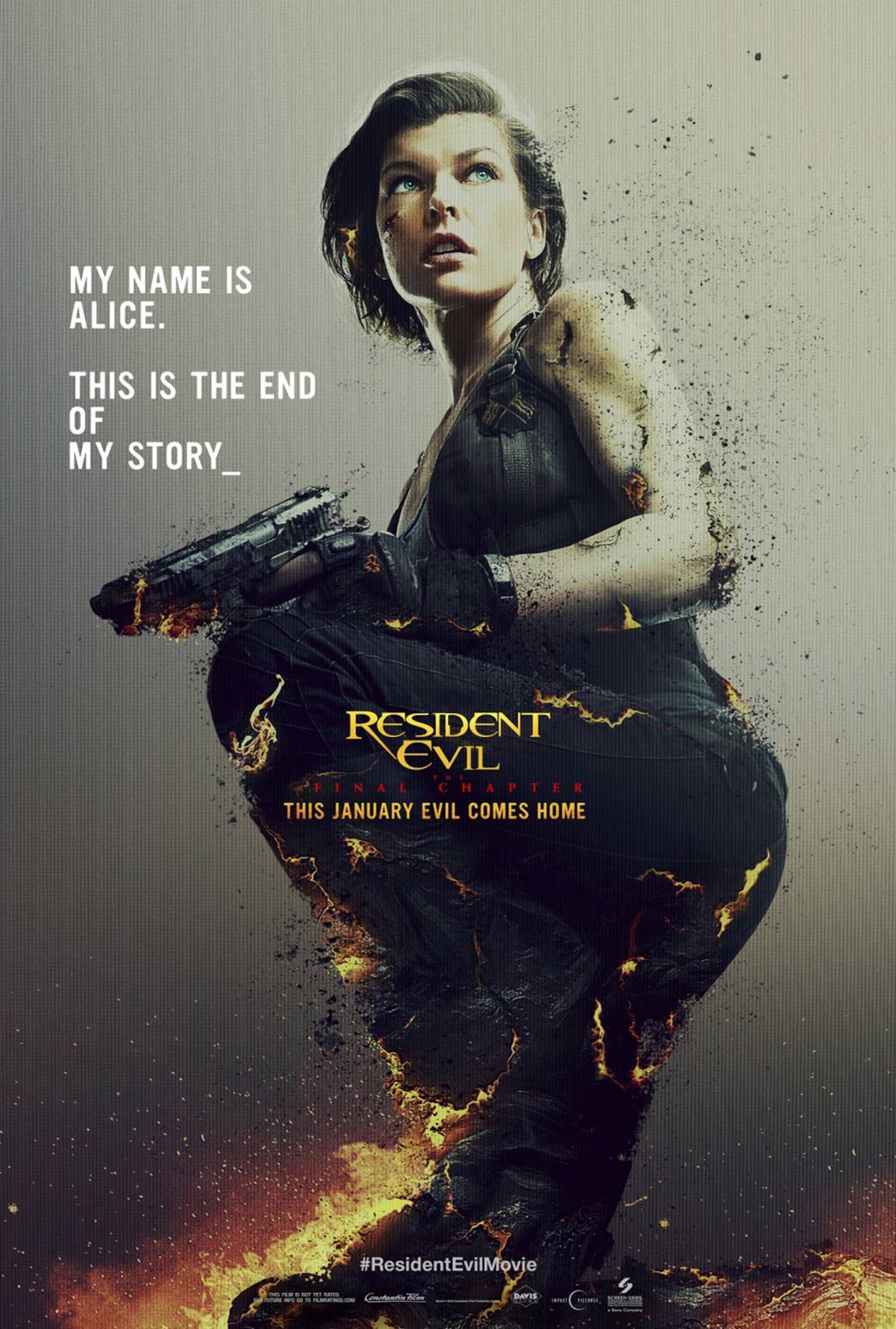 Resident Evil: The Final Chapter Poster #5