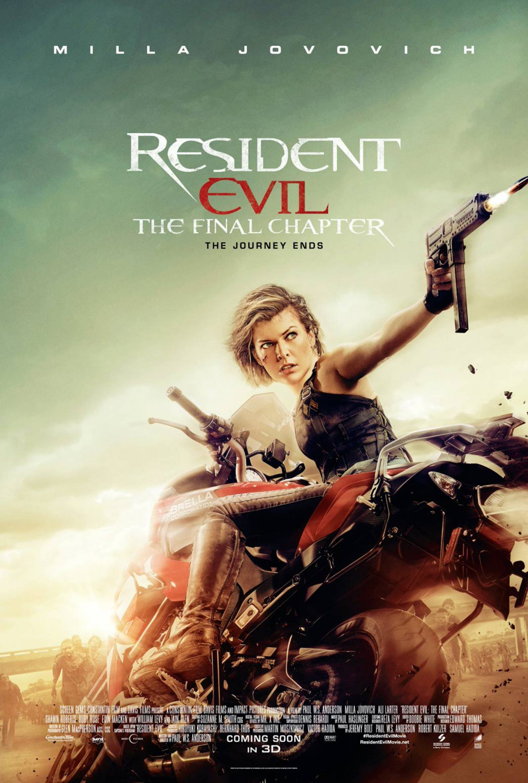 Resident Evil: The Final Chapter Poster #7