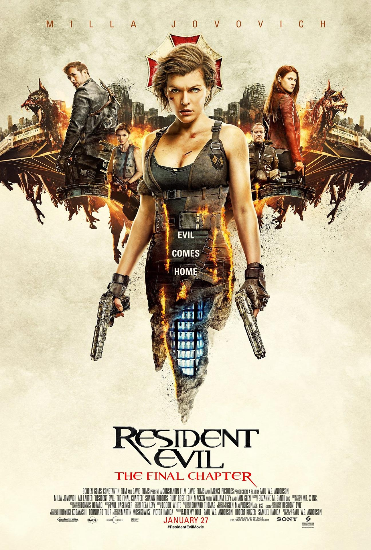 Resident Evil: The Final Chapter Poster #8
