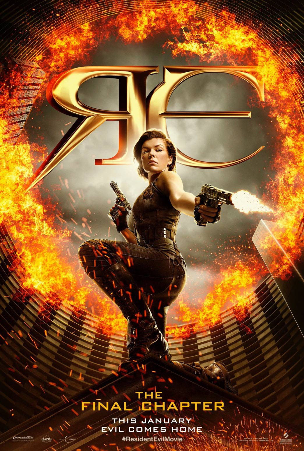 Resident Evil: The Final Chapter Poster #1