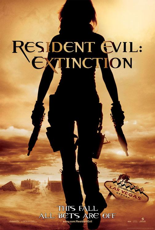 Resident Evil: Extinction Poster #1