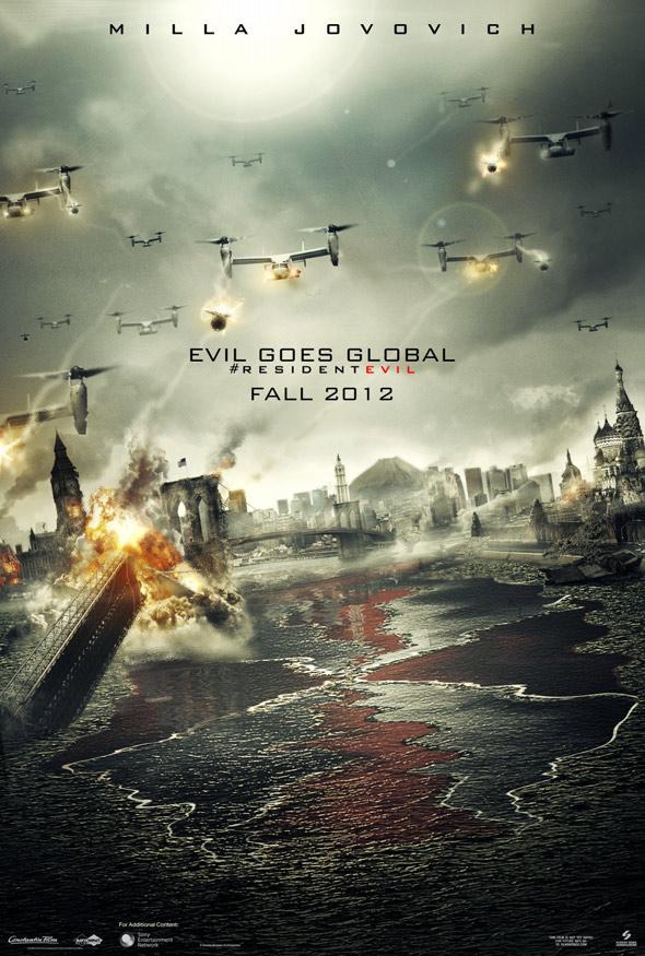 Resident Evil: Retribution Poster #1