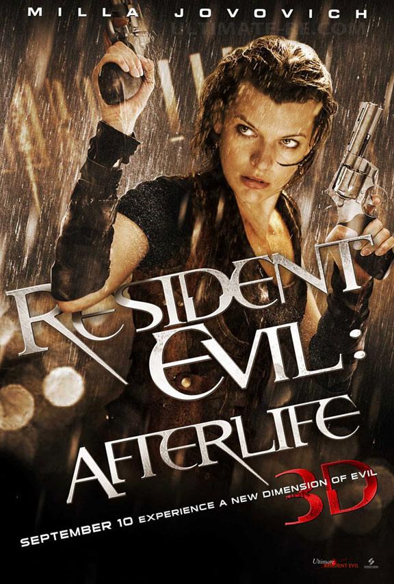 Resident Evil: Afterlife Poster #1