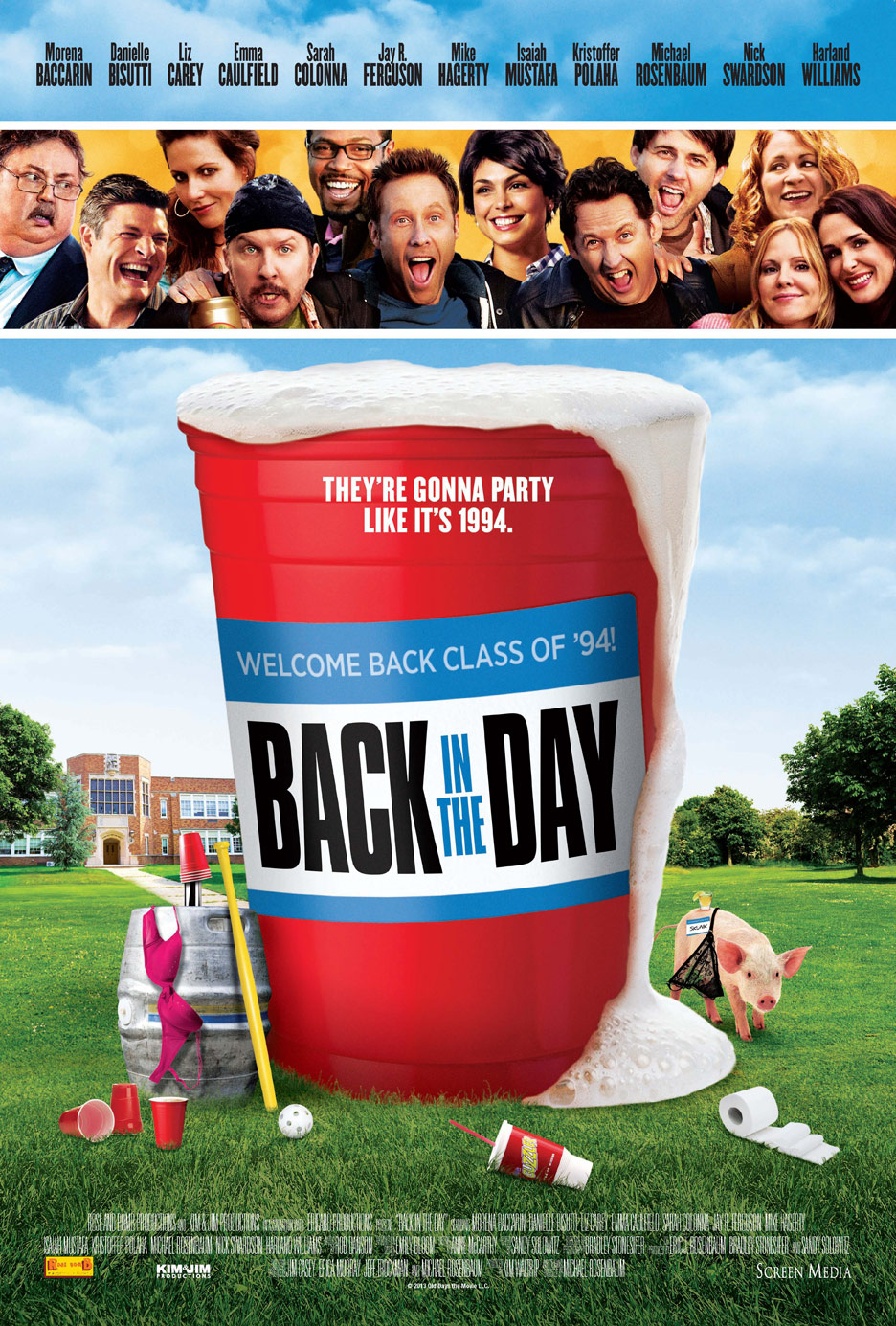 Back in the Day Poster #1