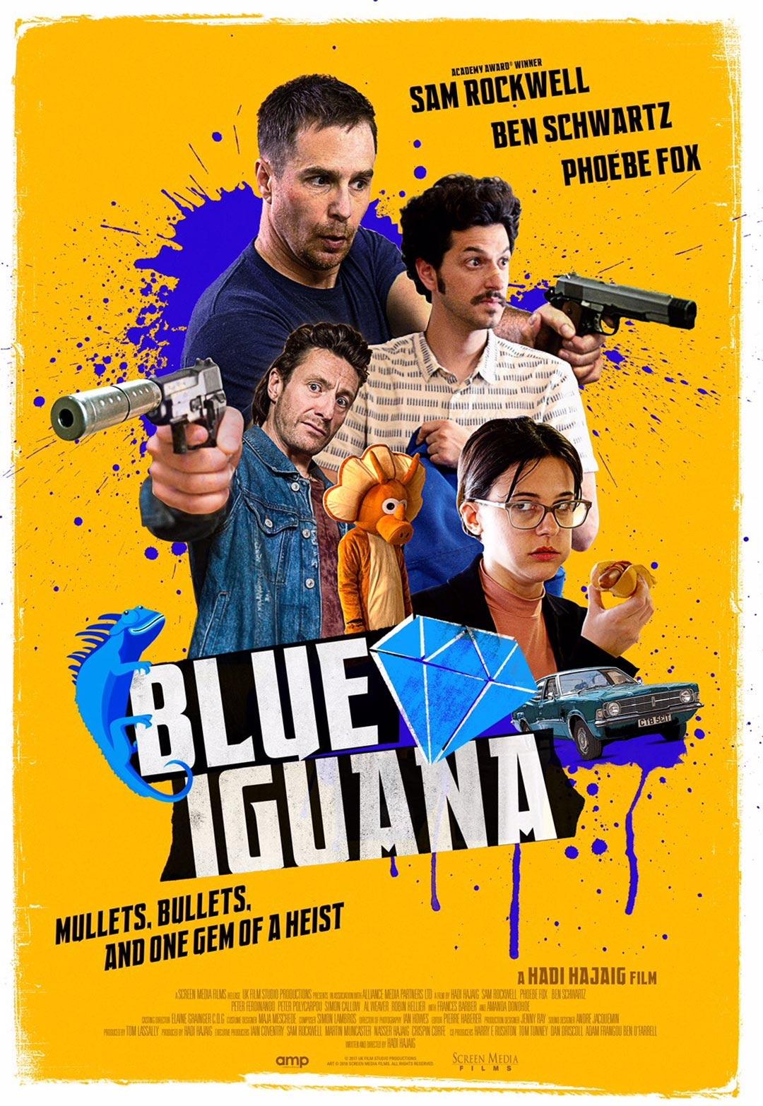 Blue Iguana Poster #1