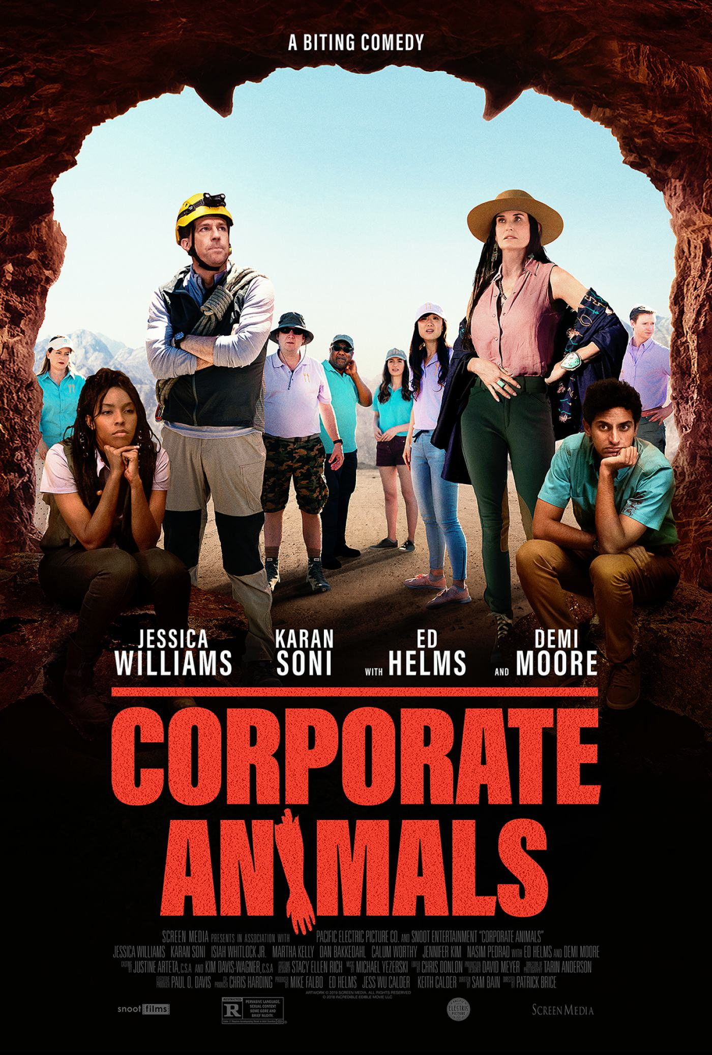 Corporate Animals Poster #1