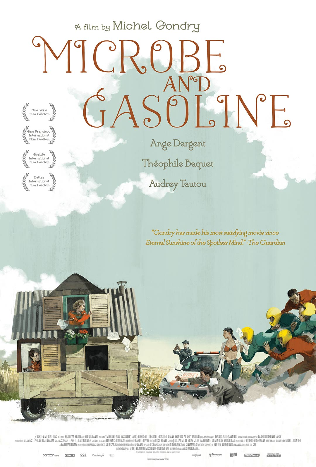 Microbe and Gasoline Poster #1