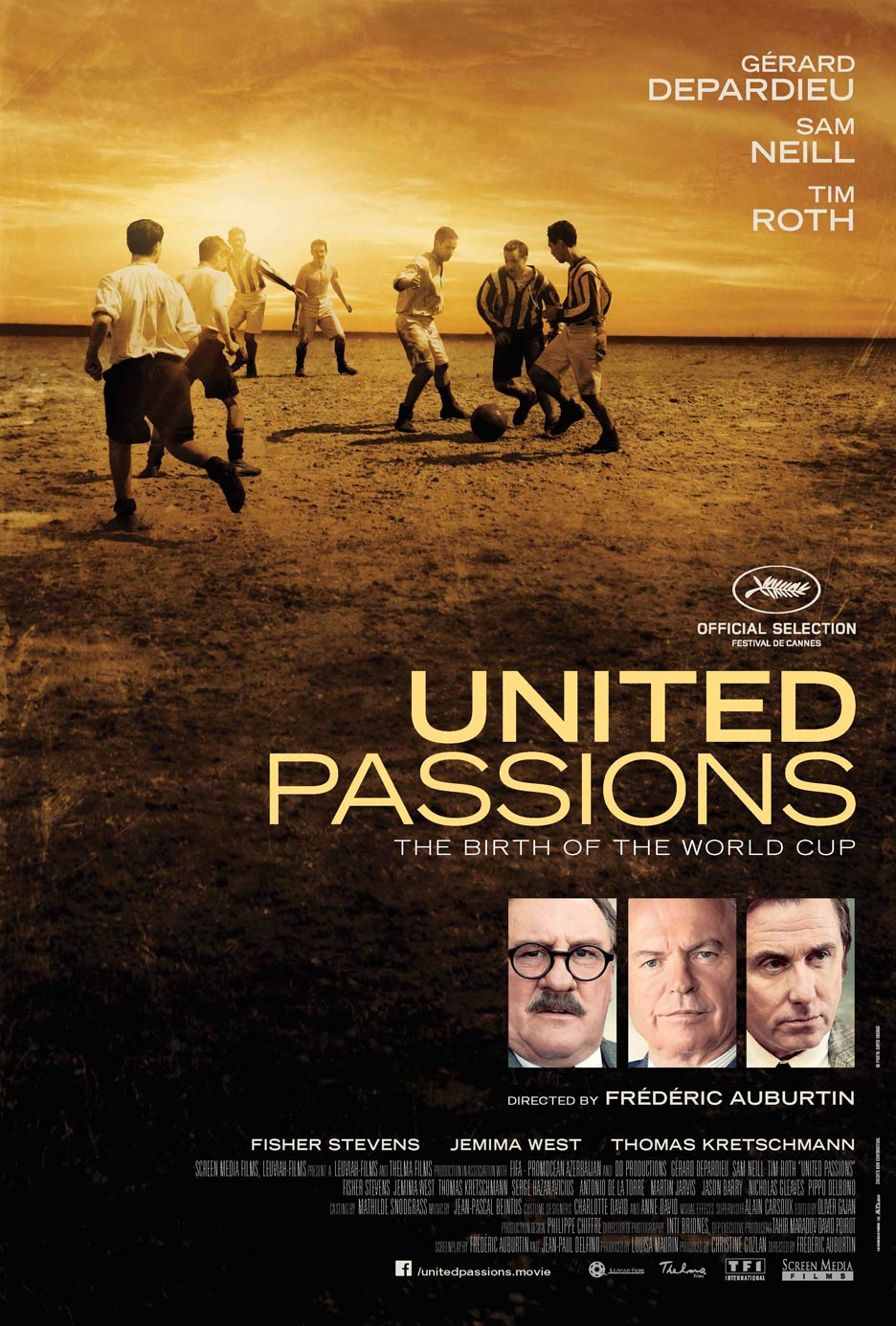 United Passions Poster #1