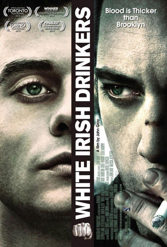 White Irish Drinkers Poster #2