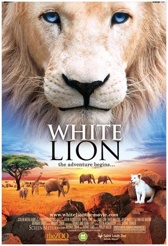 White Lion Poster #1