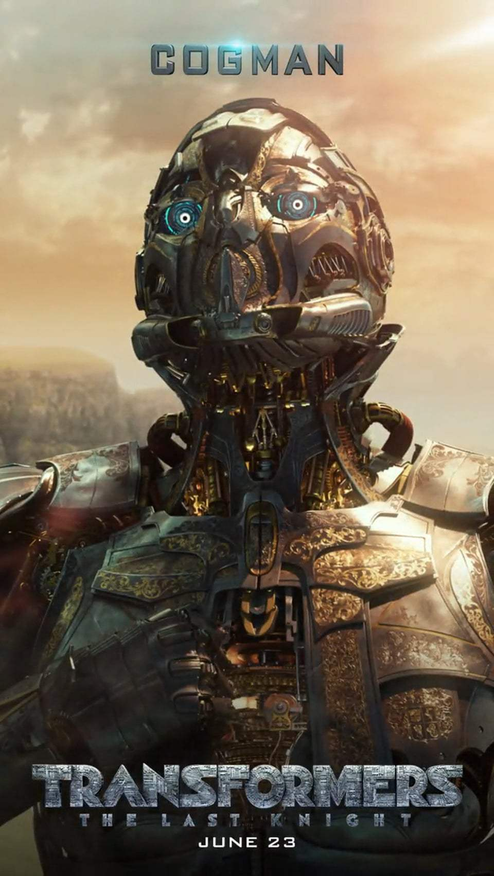 Transformers: The Last Knight Motion Poster - Cogman (2017) Screen Capture