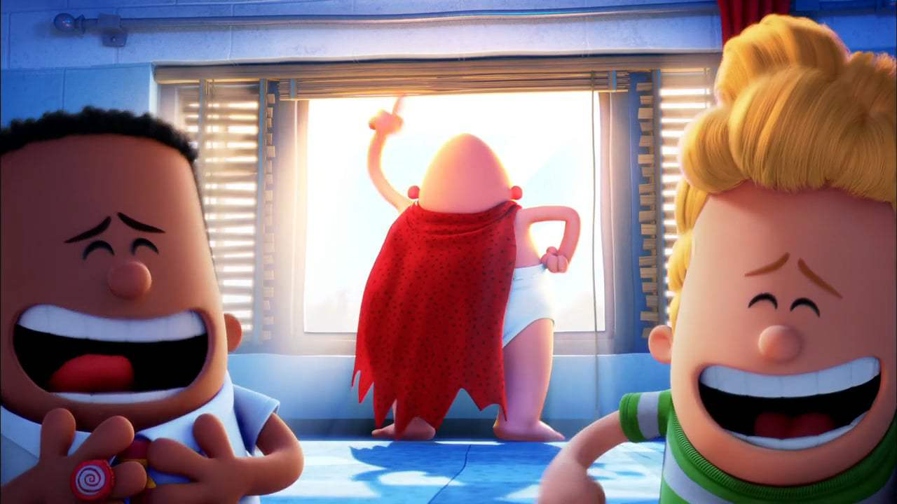 Captain Underpants: The First Epic Movie (2017) - Hypnotizing Krupp
