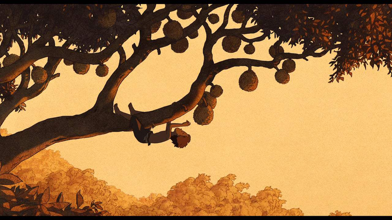 The Red Turtle (2017) - Collecting Coconuts