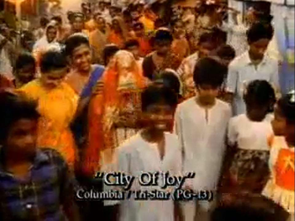 City of Joy Trailer (1992)