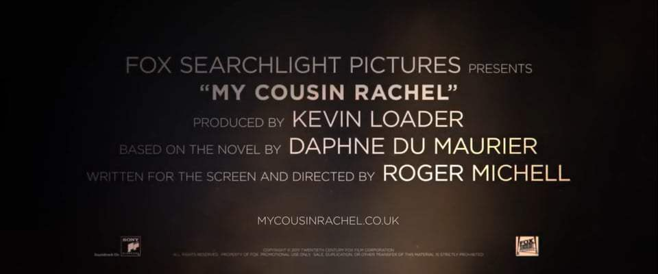 My Cousin Rachel (2017) - Reminisce