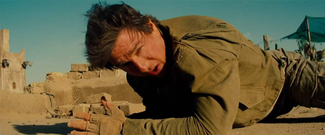 The Mummy (2017) - Think of an Escape