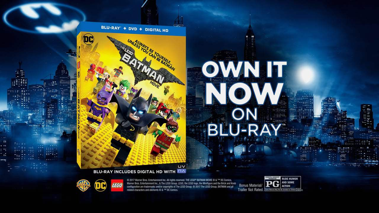 The Lego Batman Movie TV Spot - Now Available (2017)