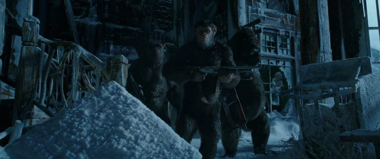 War for the Planet of the Apes (2017) - Bad Ape